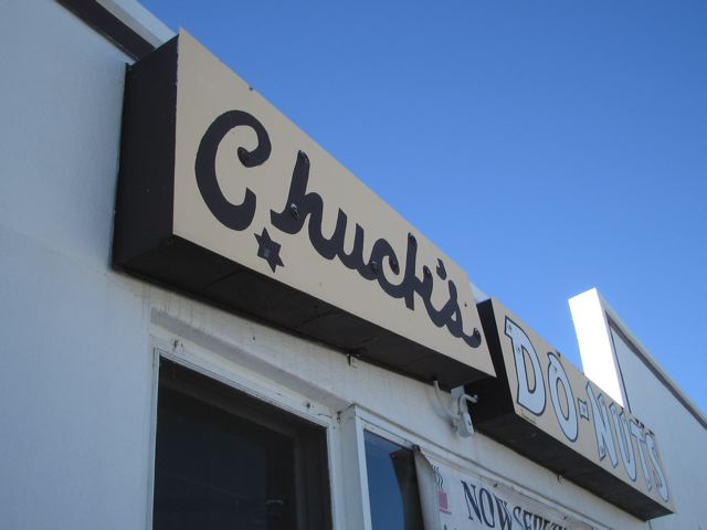Chuck\'s Do-Nuts was located at 614 E. Kentucky in West Washington Park from 1948 to 2003.