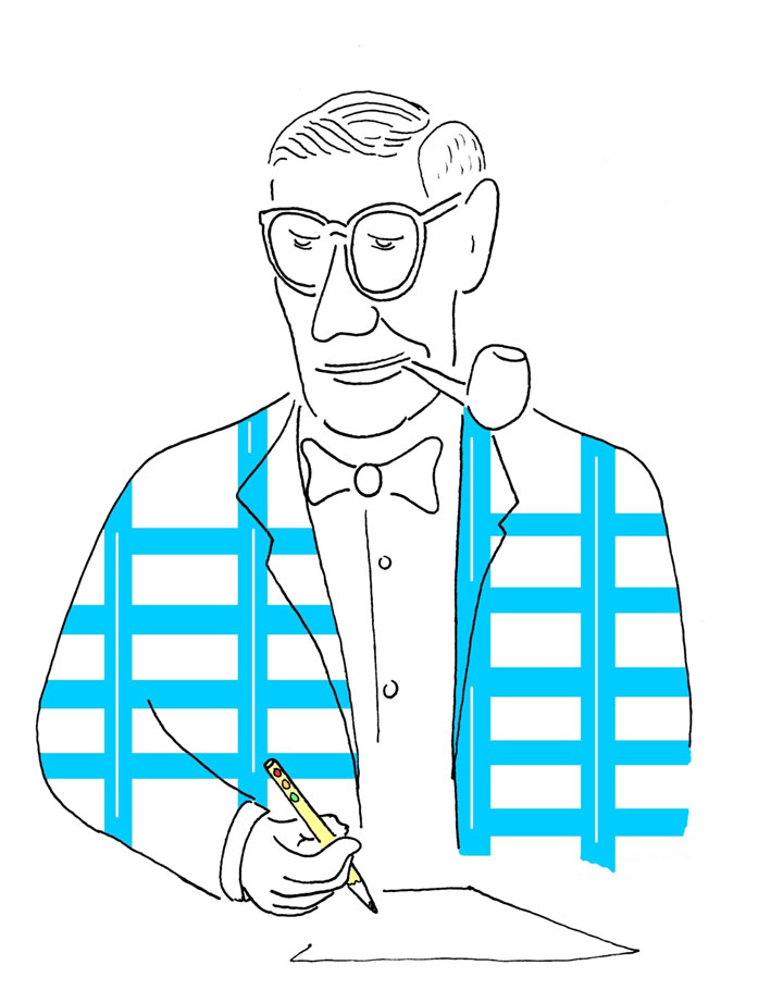 Henry Barnes, illustration by Matt Holman