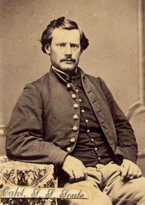 Captain Silas Soule in 1865. Courtesy of Byron Strom.