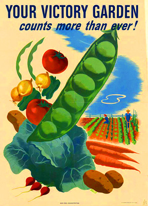 Victory Garden, WWII Promotional Poster