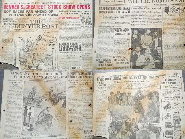 Denver Post 1926